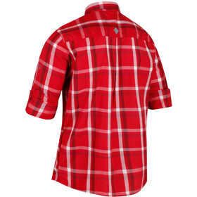 Regatta Mindano Bluzka z długim rękawem Mężczyźni czerwony
